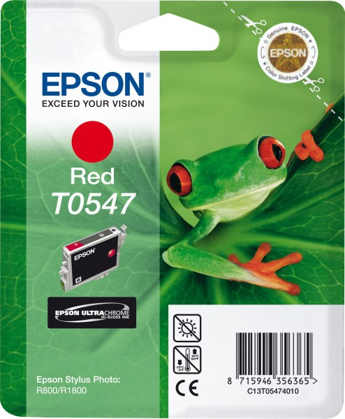 Epson T0547 [C13T05474010] red Tinte